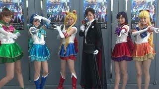 ミュージカル「美少女戦士セーラームーン-La Reconquista-」のゲネプロが9月13日、東京都内で行われ、キャスト陣が登場した。公演は「アイア...