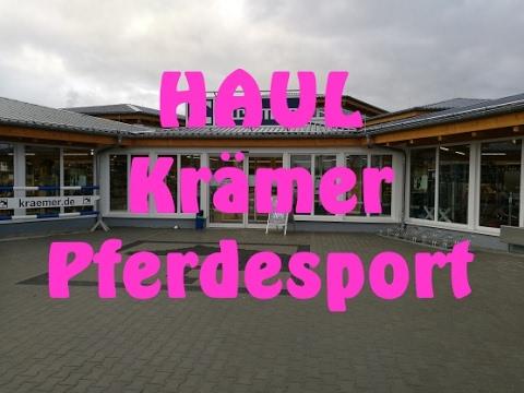 Haul Einkauf Beim Kraemer Pferdesport In Weiterstadt Youtube