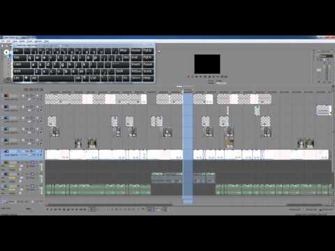 Как удалить пробел в готовом материале проекта Sony Vegas? How to delete gaps in Sony Vegas?