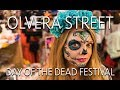 Day of the Dead on Olvera Street in Downtown LA