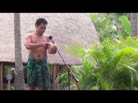 Polynesian Cultural Center 2013 - Samoa Coconuts
