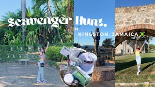 CITY SCAVENGER HUNT IN KINGSTON, JAMAICA ft. my favourite spots & local brands!!