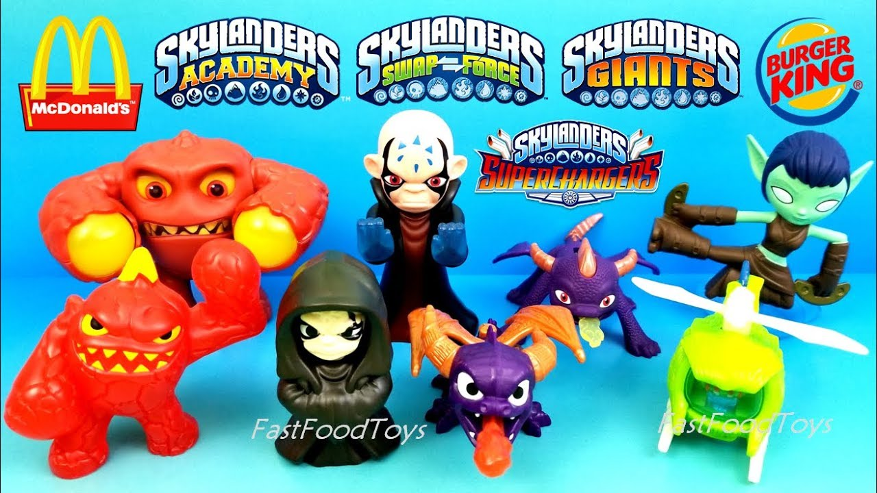 Not Toys For 2018 From Moive : Mcdonald s skylanders happy meal toys burger king