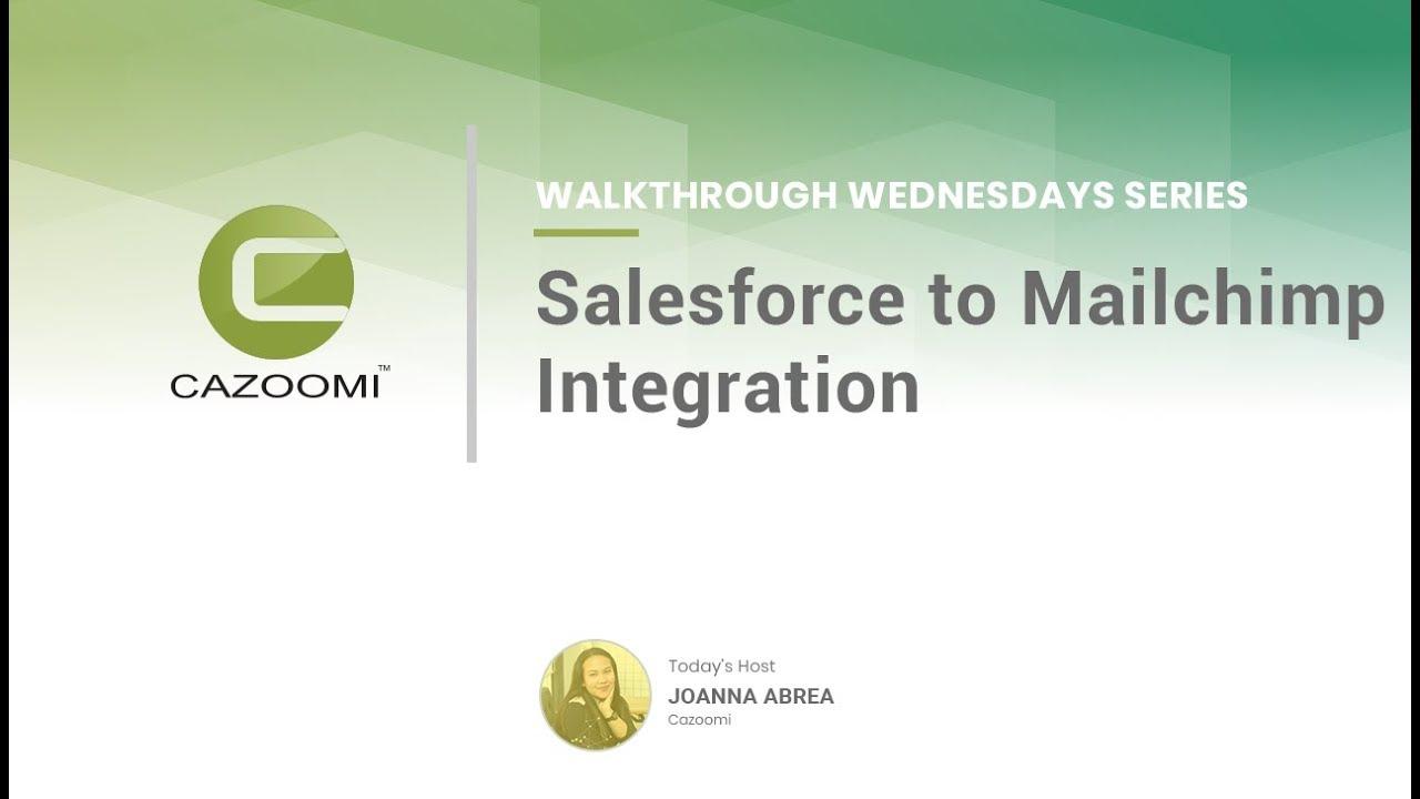 Mailchimp for Salesforce
