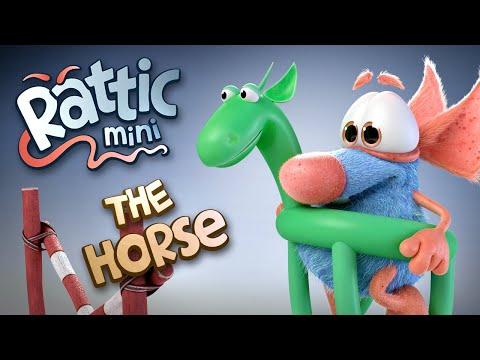 Funny Cartoon | Rattic Mini–The Horse | Funny Cartoons For Kids | New Cartoons