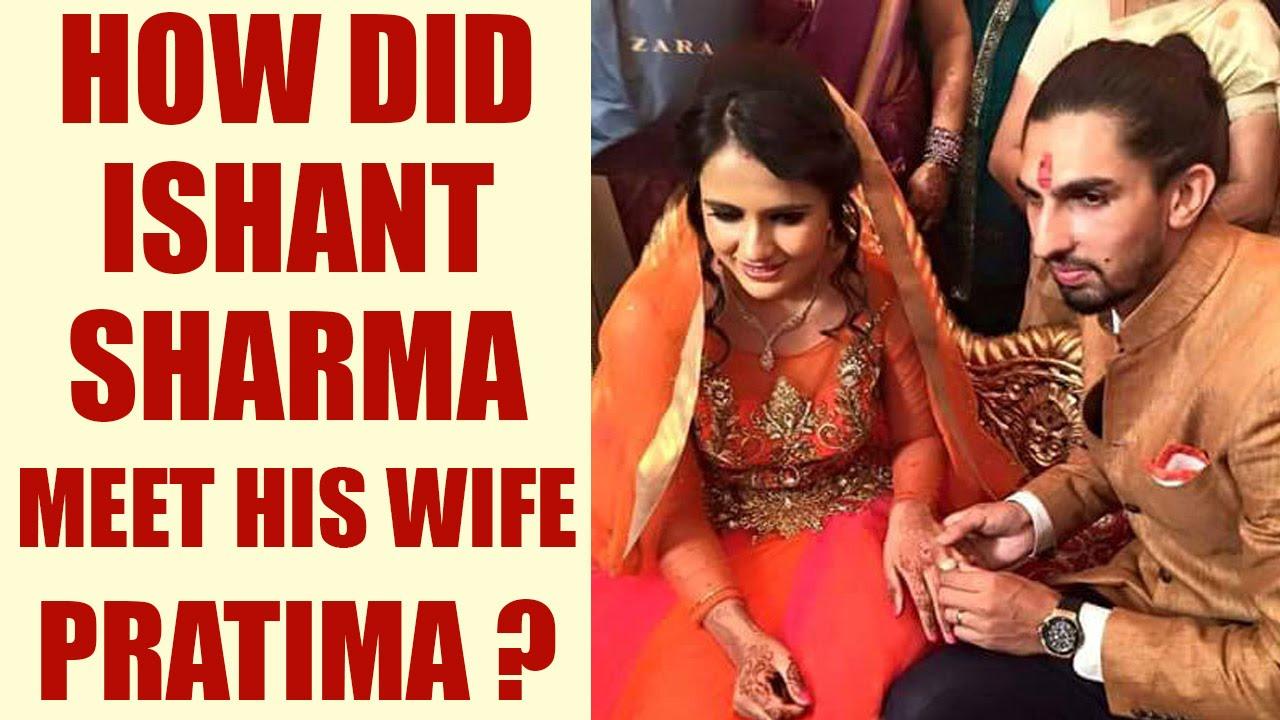 Ishant Sharma With His Wife
