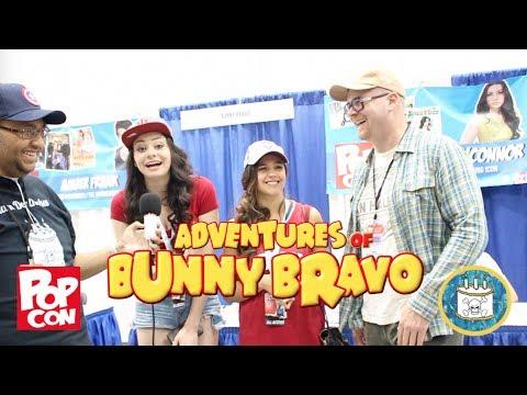 Amber Frank, Meredith O'Connor, & Mychal Simka talk Bunny Bravo - PopCon2017