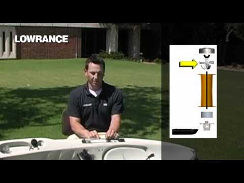 Lowrance Lessons - Transducer Kayak Scupper Mount