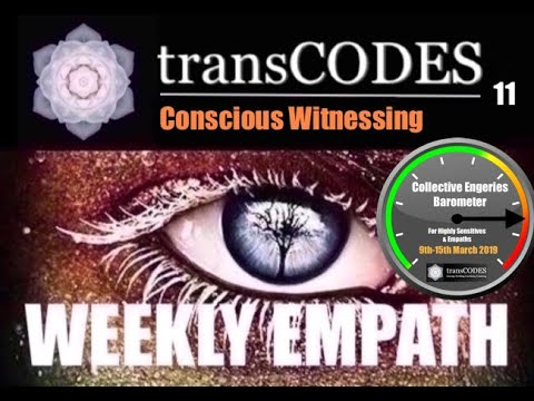 9th-15th March 2019 ENERGY UPDATE (Week 11): CONSCIOUS WITNESSING
