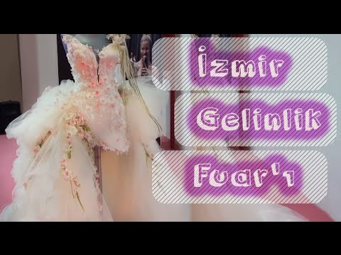 2016 İzmir Gelinlik Fuarı - Emine Tarın