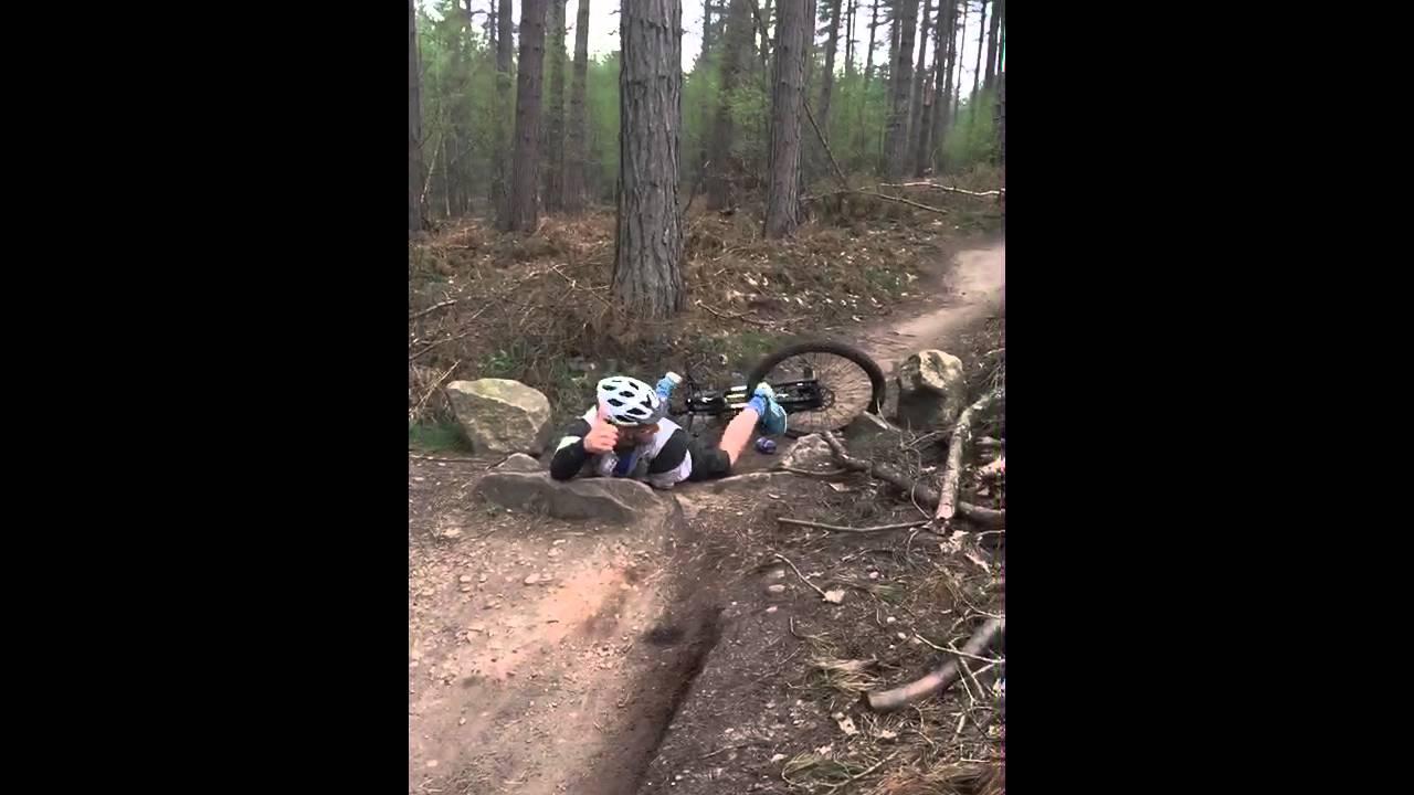 Sherwood Pines Mountain Bike Jump Fail Youtube