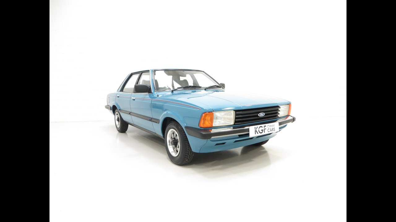 One of the Very Last Mk5 Ford Cortina Crusaders Made with Only ...