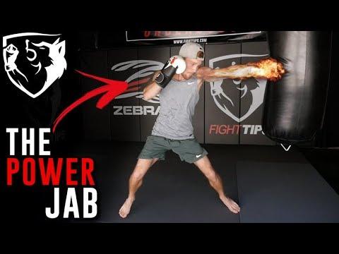 NYC Striking Seminar: How to Throw the POWER Jab
