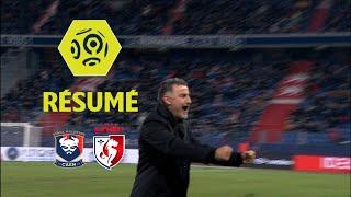 SM Caen - LOSC (0-1)  - Résumé - (SMC - LOSC) / 2017-18