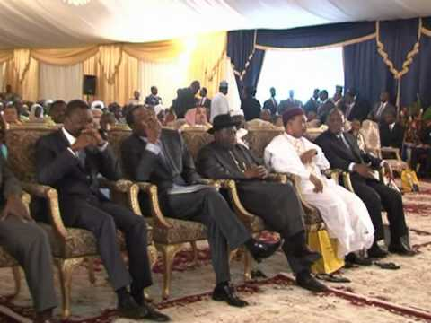 JONATHAN WITNESSES CHAD PRESIDENT INAUGURATION