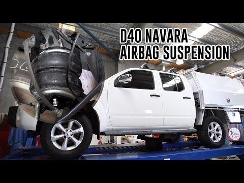 How To Install Nissan D40 Navara Air Suspension