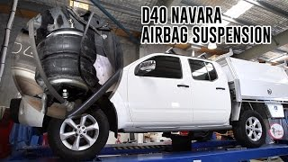 How To Install: Nissan D40 Navara Air Suspension - RR4656 Airbag Man Leaf Helper Kit