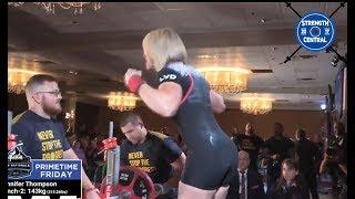Jennifer Thompson - 2nd Place 63 kg USAPL Raw Nationals 2018 - 500.5 kg