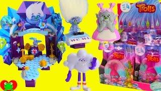 Trolls Guy Diamond Kre-O Like Legos Set with Bergens Bridget Series 4 Blind Bags