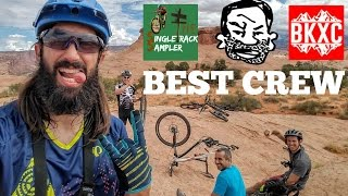 MTB MOAB -  Slick Rock Trail with Seth's Bike Hacks and BK-XC   The Singletrack Sampler