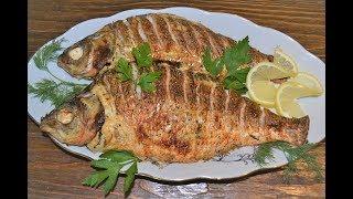Рыба  запеченная в сметане.Полезная вкуснятина!