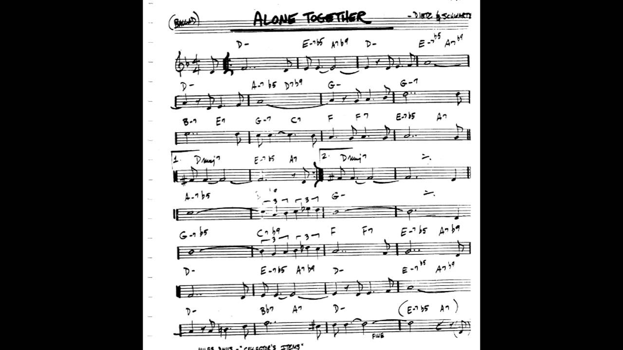 alone together play along backing track c key score violin guitar piano youtube. Black Bedroom Furniture Sets. Home Design Ideas