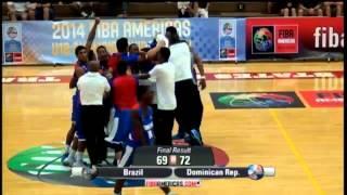 Resumen: Camino al mundial, Seleccion RD Basket U18