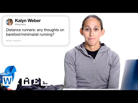 Marathon Champion Answers Running Questions From Twitter   Tech Support   WIRED