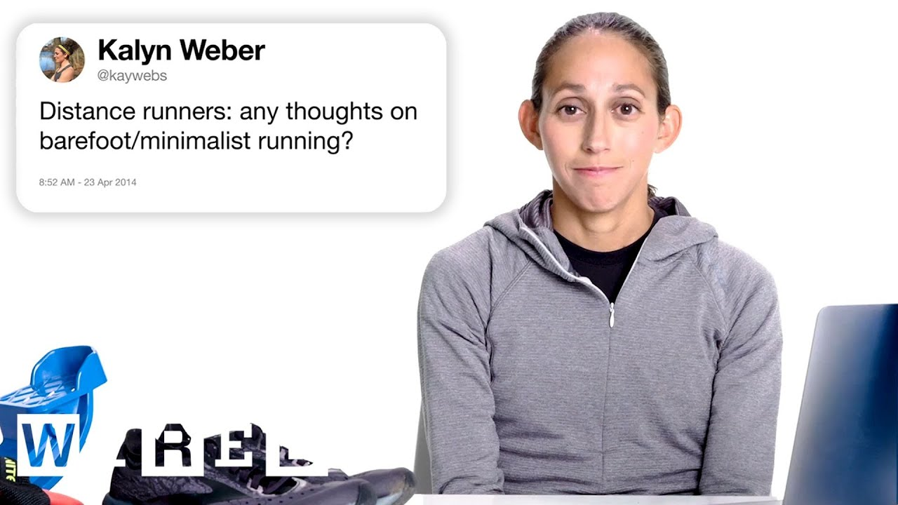 Download Marathon Champion Answers Running Questions From Twitter | Tech Support | WIRED