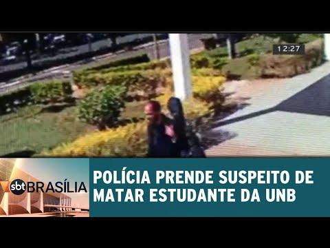 Polícia prende suspeito de matar estudante da UnB | SBT Brasília 21/08/2018