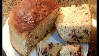 Итальянский Рождественский хлеб Панеттоне Italian Christmas Panettone bread