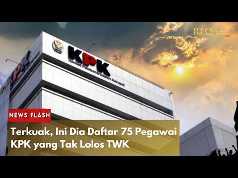 Viral 75 Daftar Nama Pegawai KPK yang Tak Lolos TWK