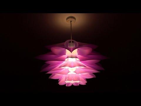 Excelvan DIY Lotus Pendant Lamp Shade