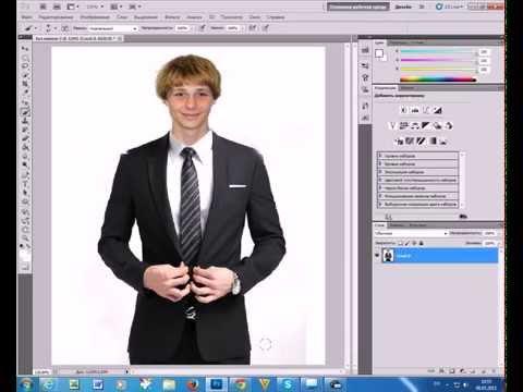 Как заменить лицо в Фотошопе CS5, CS6 YouTube