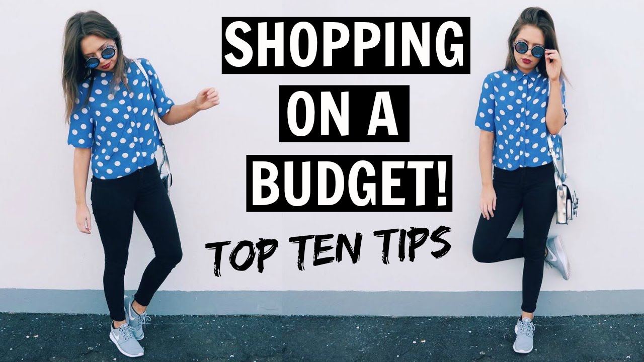 Fashion Tips Shopping On A Budget Youtube