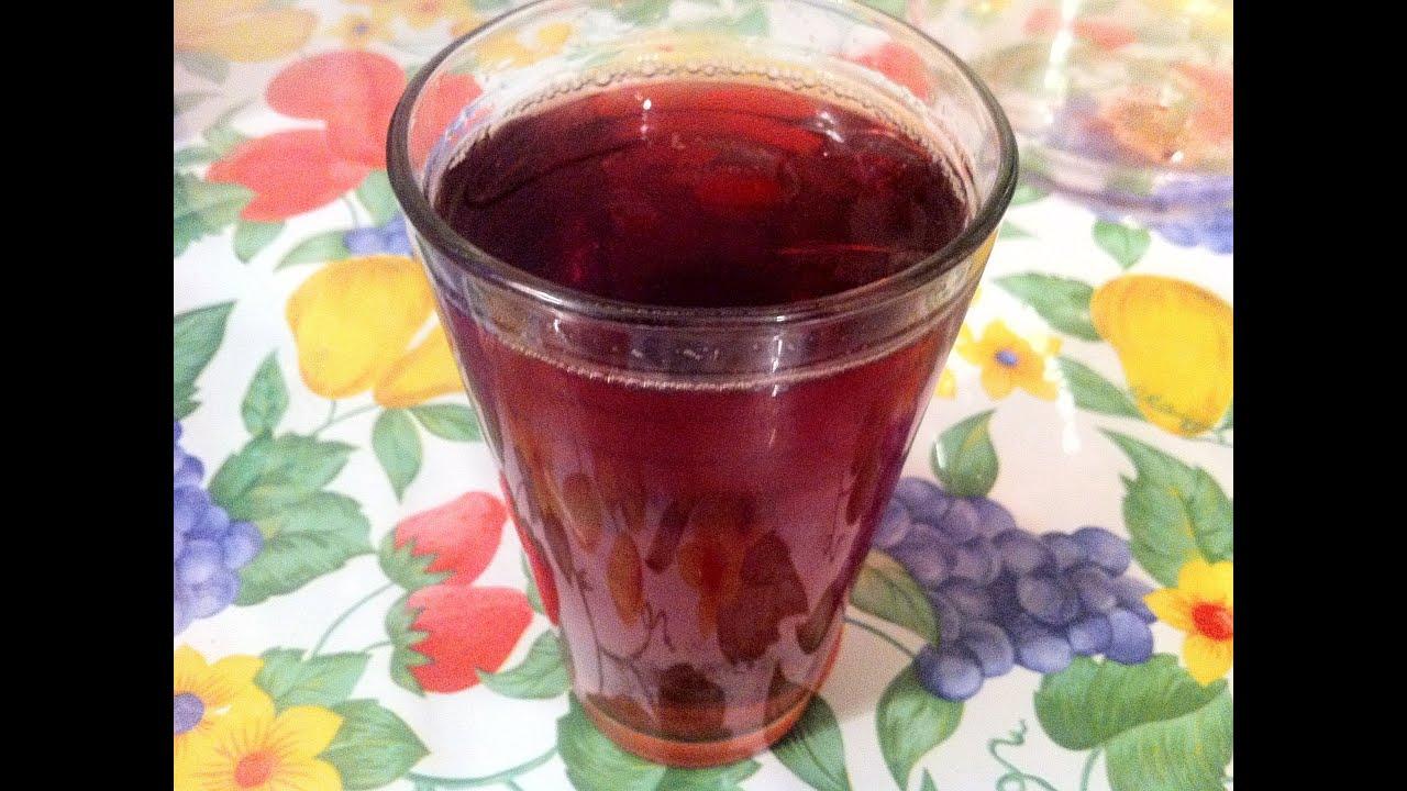 Receta de Agua de Jamaica (Hibiscus Tea) - YouTube