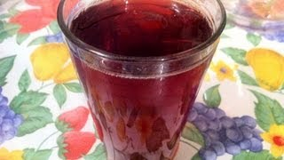 Receta De Agua De Jamaica (hibiscus Tea)