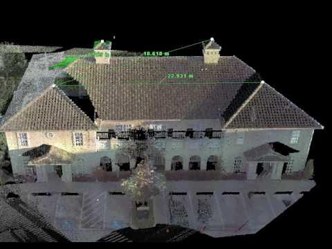 3D Laser Scan of a Hotel
