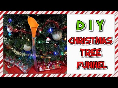 How To Make A Christmas Tree Funnel | EASY DIY 📍 How To With Kristin