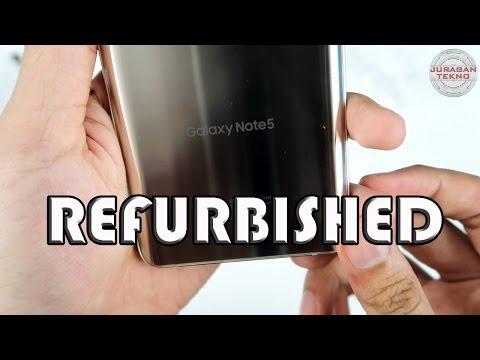 Unboxing Samsung Galaxy Note 5 Refurbished Indonesia (Juragan Tekno)