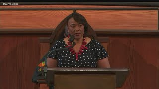 Rayshard Brooks Funeral | Dr. Bernice A. King delivers powerful remarks