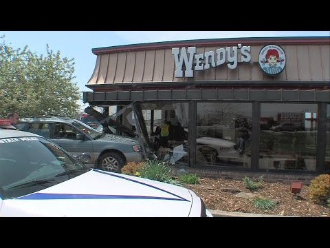 ISP: Driver hit accelerator instead of brake when he crashed into Wendy's