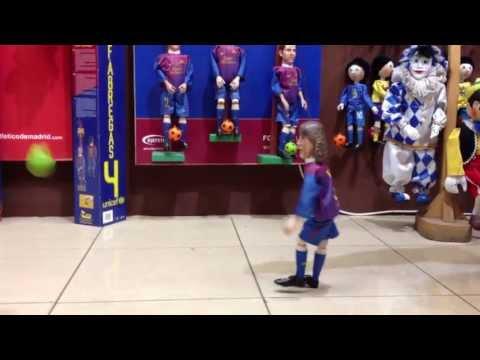 Djepeto ® - FC Barcelona marionettes - Carles Puyol - www.djepetoshop.com
