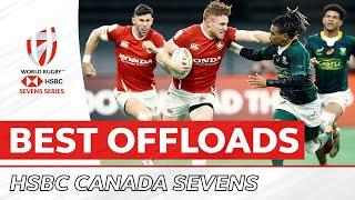 BEST OFFLOADS   Canada Sevens