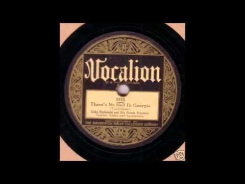 Luke Highnight & His Ozark Strutters  There's No Hell In Georgia  VOCALION 5325
