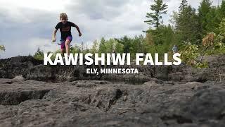 Kawishiwi Falls in Ely Minnesota