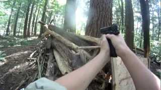 WOLF PACK AIRSOFT KWA M1911 MKIV gameplay 7-22-12(face shot) Thumbnail