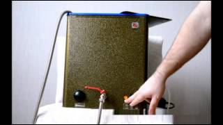 видео Водонагреватели для дачи наливные. Монтаж и выбор !