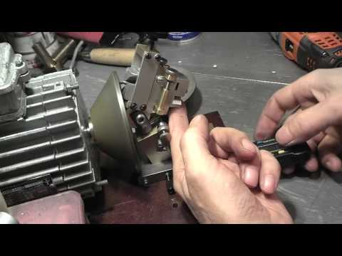 Станок для заточки сверл (machine for sharpening drill bits)