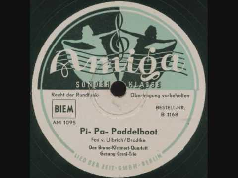 Cornel-Trio - Pi- Pa- Paddelboot